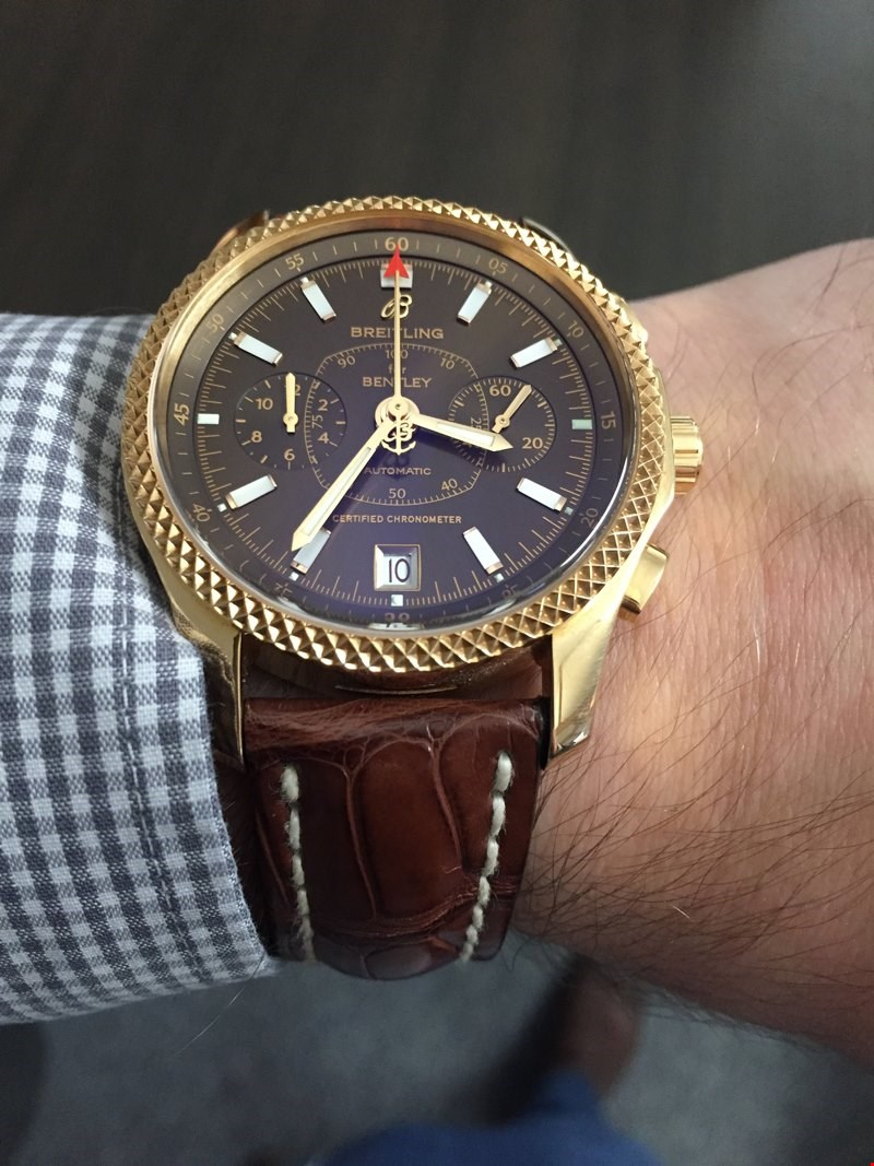 Breitling For Bentley >> Pre-Owned Breitling Bentley Mark VI: Wrist Test | Watches | Xupes