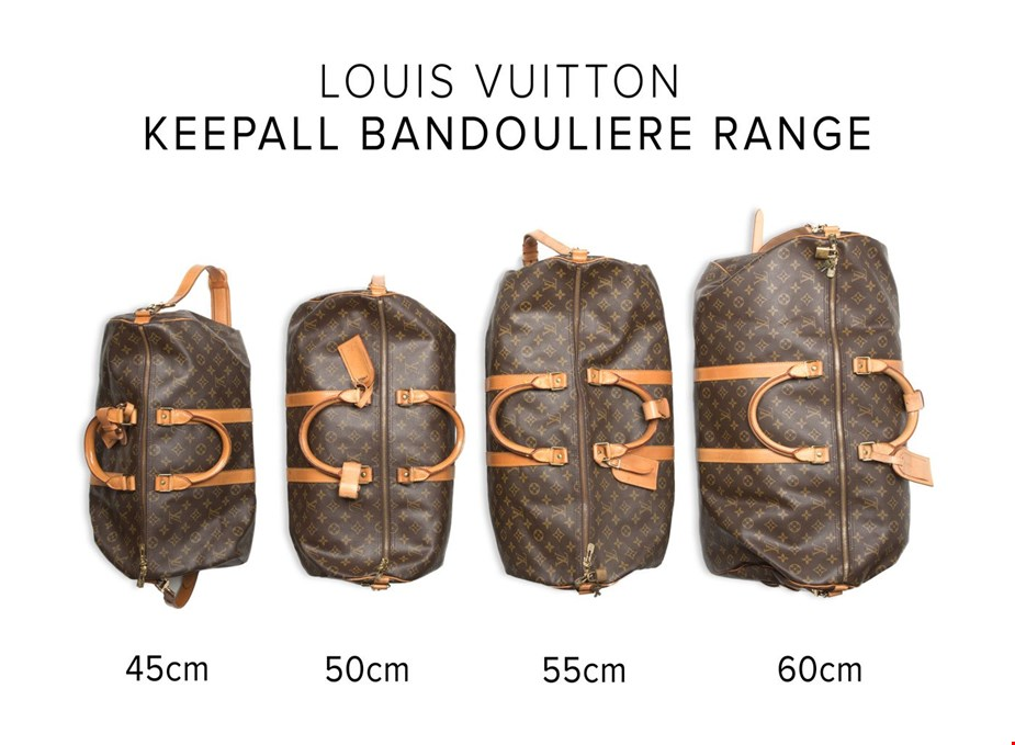873cd6296780 Vintage Louis Vuitton Keepalls for your Holiday