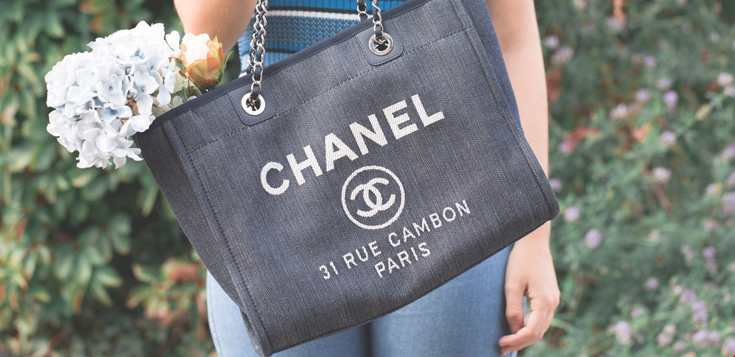f7581816dbea Pre-Owned Chanel Deauville Tote Denim: Spotlight On | Handbags | Xupes