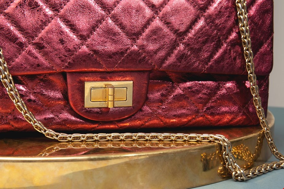 Xupes pre-owned Chanel 2.55 reissue metallic double flap