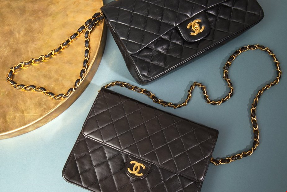 Xupes pre-owned Chanel classic double flap and single flap bags