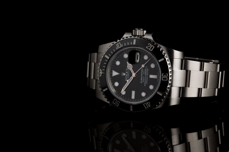 Xupes pre-owned Rolex Submariner stainless steel