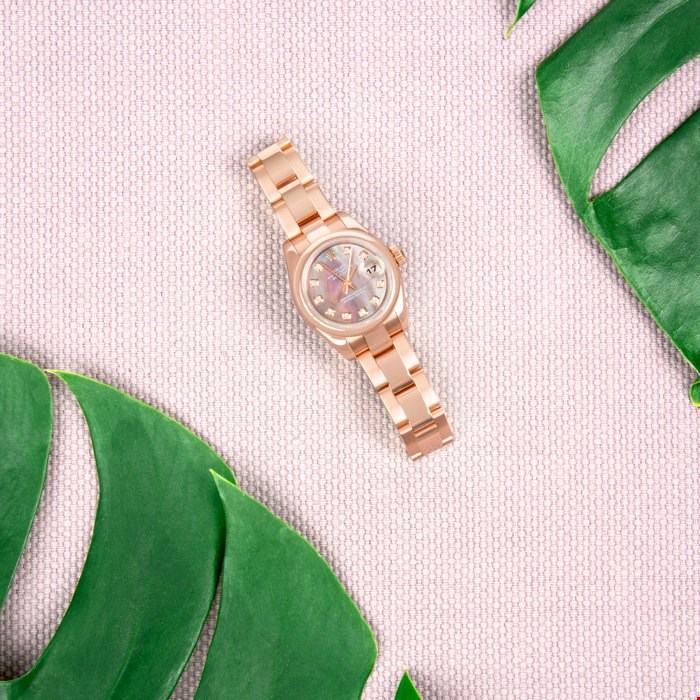 Rolex Oyster Rose Gold