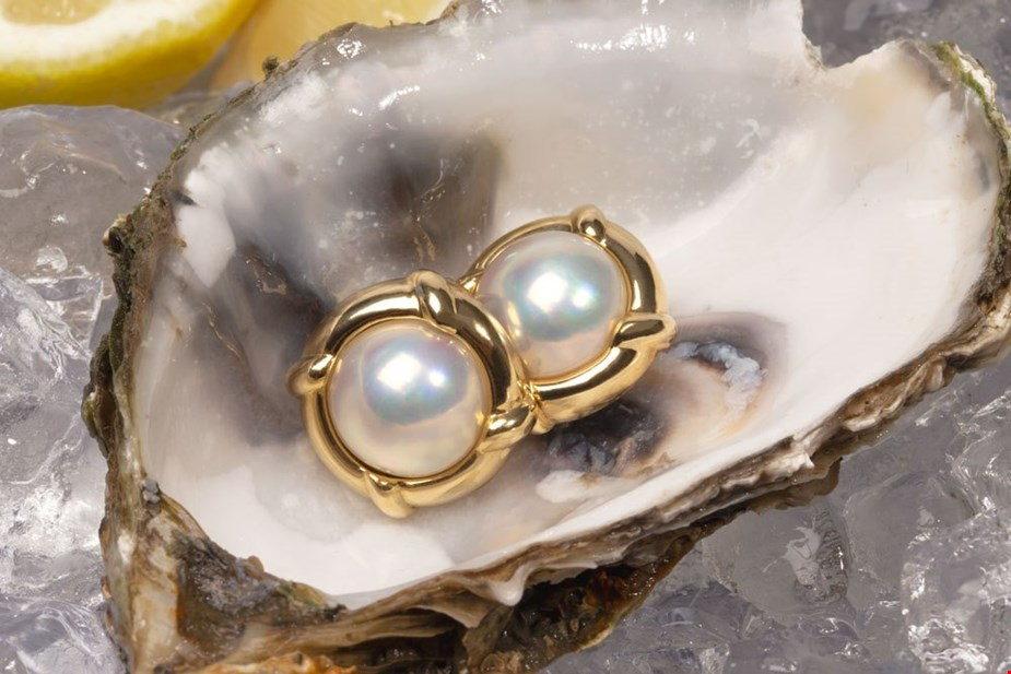 TIFFANY & CO. CLIP ON PEARL EARRINGS