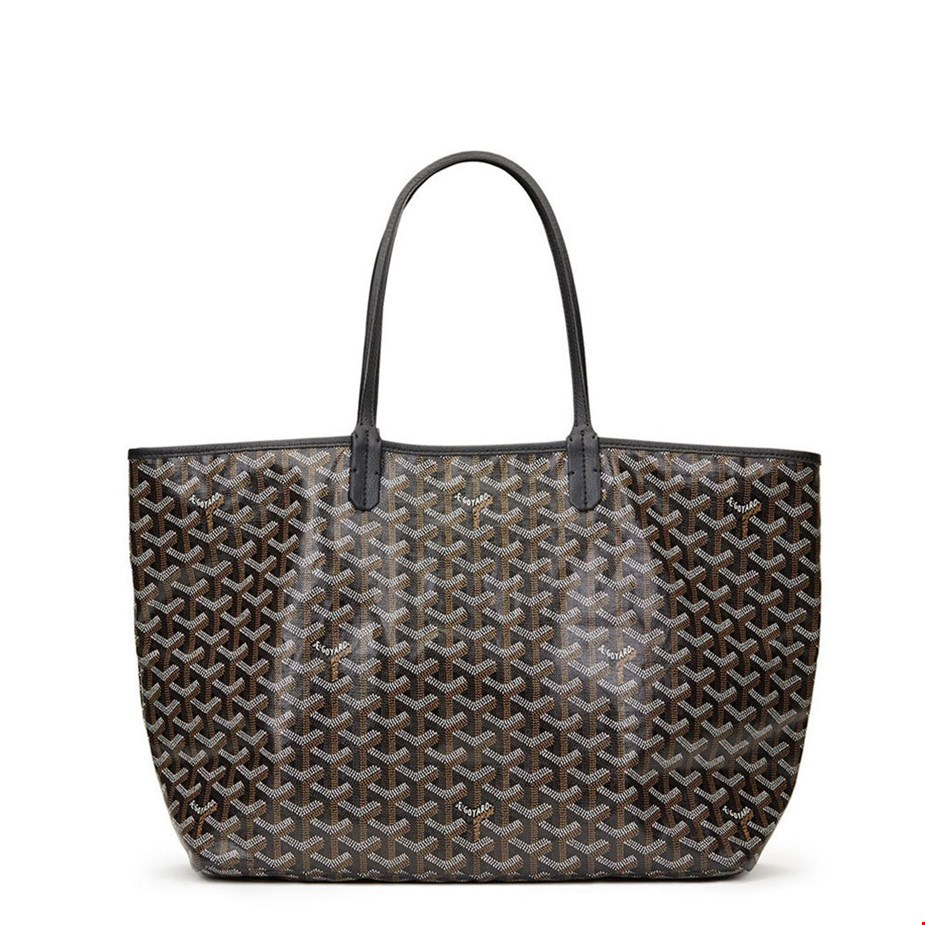 Goyard-Black-Chevron-Coated-Canvas-St-Louis-PM