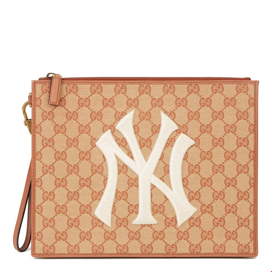 Brick-Monogram-Canvas-Yankees-Pouch