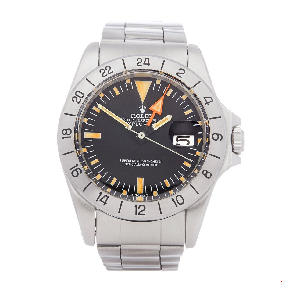 ROLEX EXPLORER STAINLESS STEEL 1655