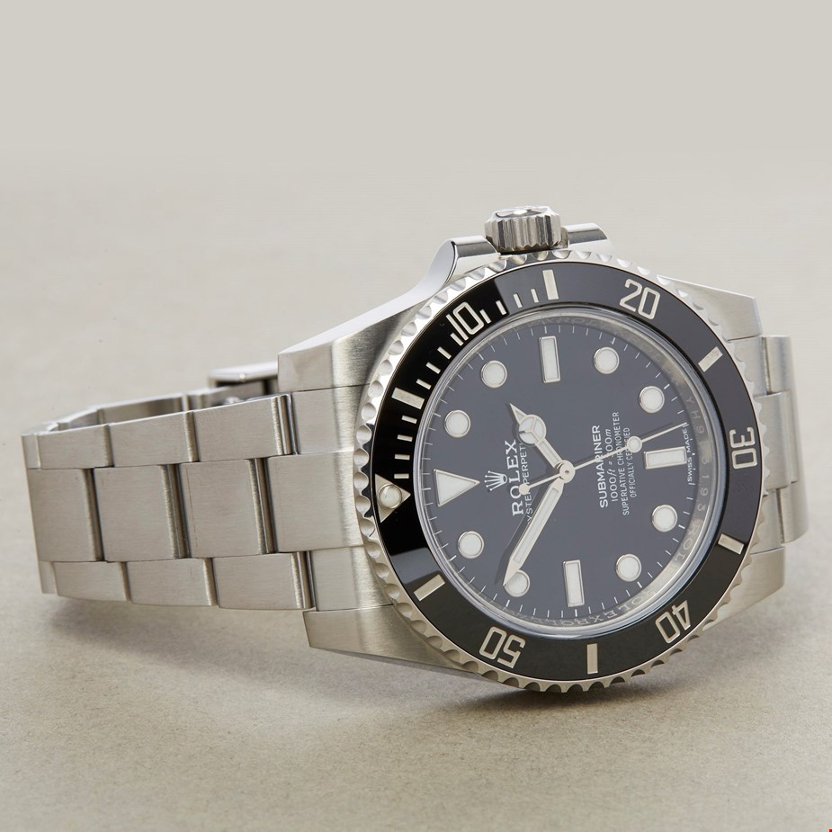 ROLEX SUBMARINER NON-DATE STAINLESS STEEL 114060