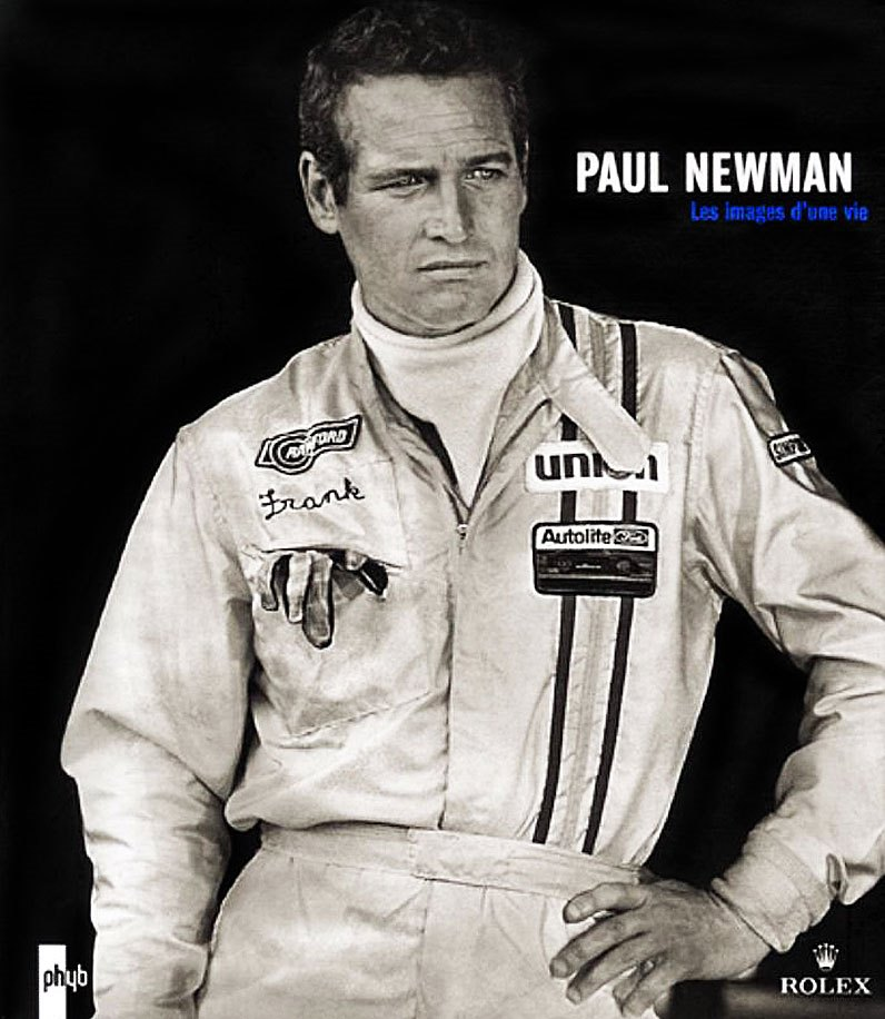 Paul Newman wearing a Rolex Daytona in the film Winning.